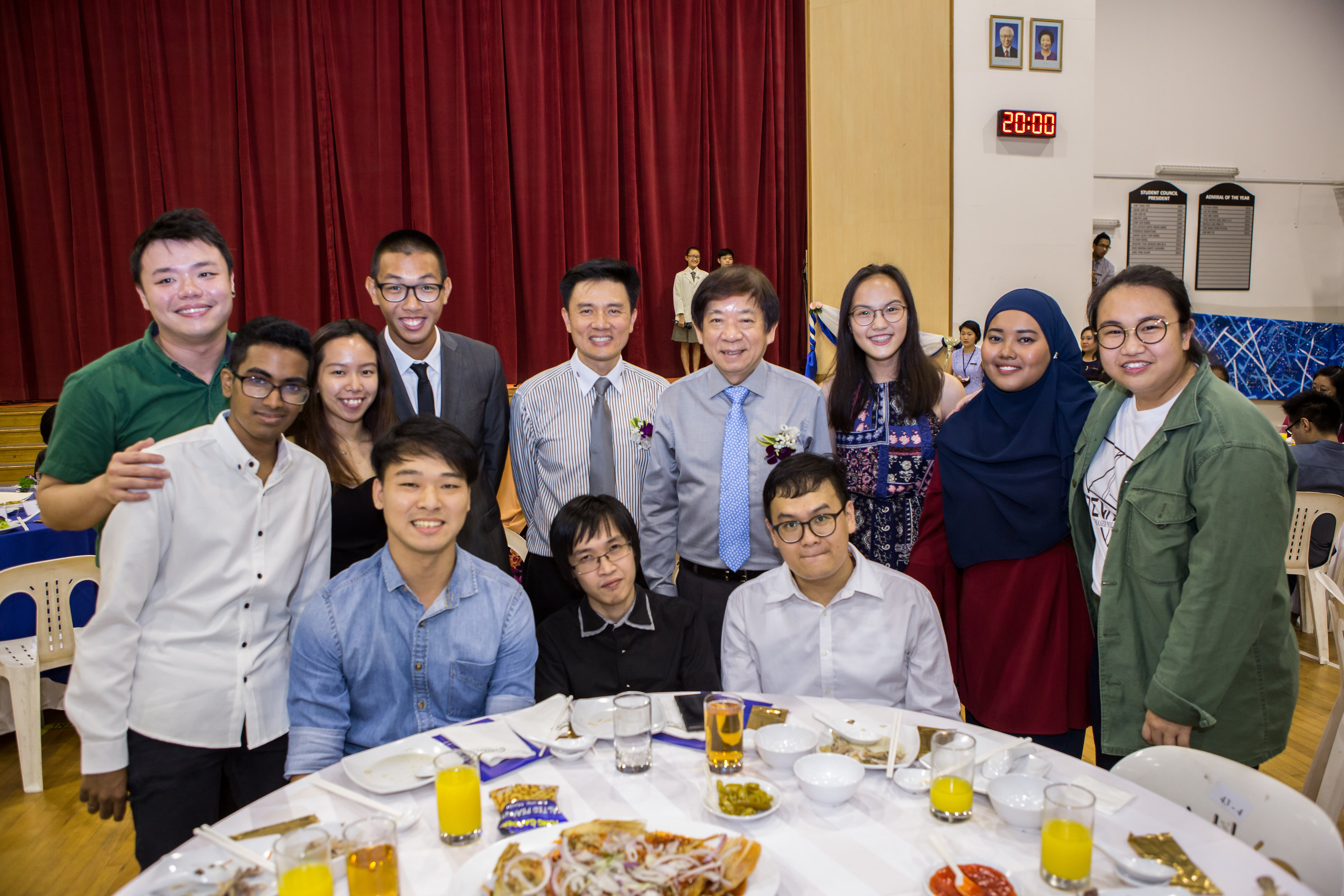 Different Generations of Alumni attending the Inaugural Homecoming Dinner.jpg